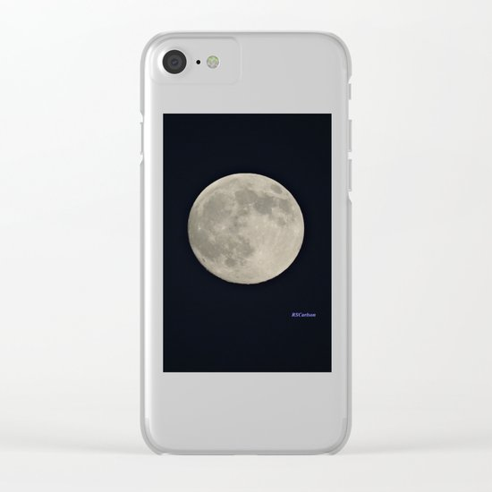 Another August Moon Clear iPhone Case