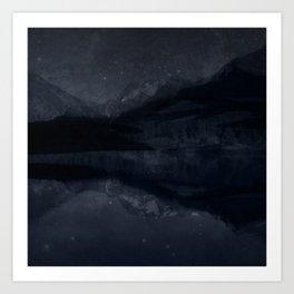 Night Valley Art Print