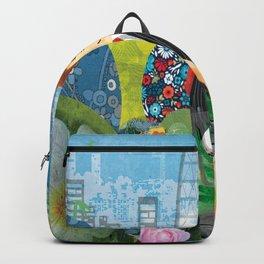 Urban Gardening illustration Backpack