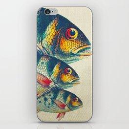 Fish Classic Designs 3 iPhone Skin