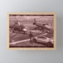 New But Old School GTA Framed Mini Art Print