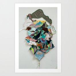 Drifting Away Art Print