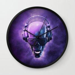 Disco Muerte Wall Clock