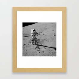 Apollo 17 - Commander Gene Cernan Framed Art Print
