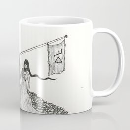 Mr. Please and Mrs. Papal Bull Coffee Mug