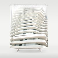 architecture Shower Curtains featuring Architecture by Fine2art