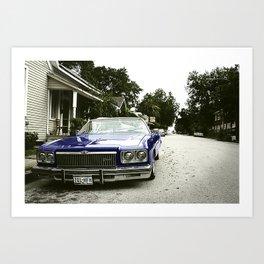 Chevrolet convertible Art Print