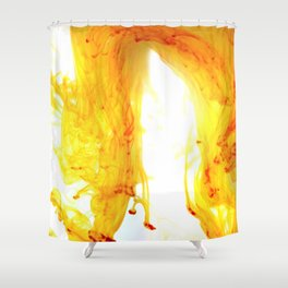 Dancing Ink, July Shower Curtain