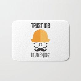 Trust Me I'm An Engineer Bath Mat