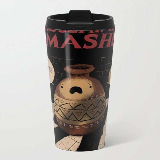 the serial smasher Metal Travel Mug
