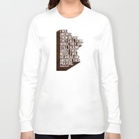 pocketfuel Long Sleeve T-shirts featuring ANSWERS by Pocket Fuel