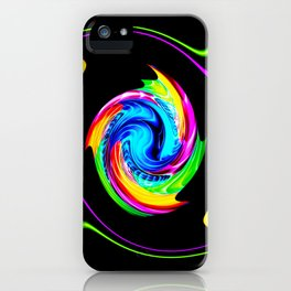 Abstract perfection -100 iPhone Case