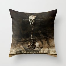 Rigor Coagula Throw Pillow