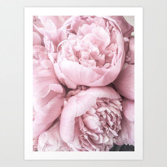 Lush Peony Flower by ginajessicasmith