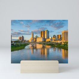 The Columbus Skyline 02 Mini Art Print