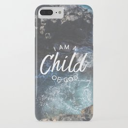 Christian Quote - I am a Child of God iPhone Case