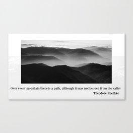MOUNT EVEREST 004 Canvas Print
