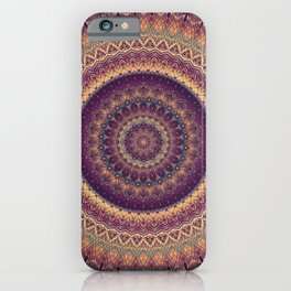 Mandala 541 iPhone Case