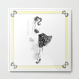 Mirror, Mirrow... Metal Print