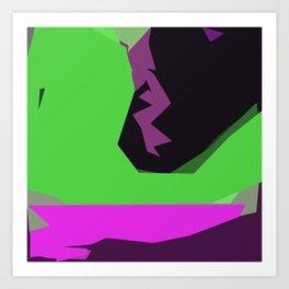 Green River of Abundance Art Print