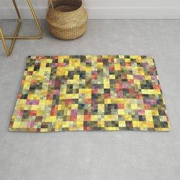 Yellow Squares Rug