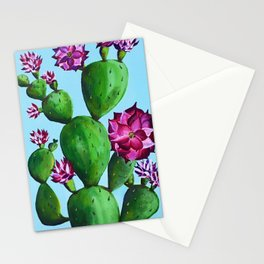 A Blooming Cactus in Austin Stationery Cards