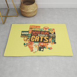Who Run The World Cats Rug
