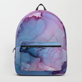Alcohol Ink - Dreamy Clouds Backpack