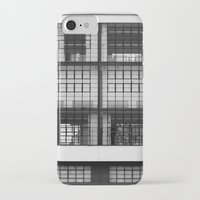 bauhaus iPhone & iPod Cases featuring Bauhaus Facade by Ben Rice McCarthy