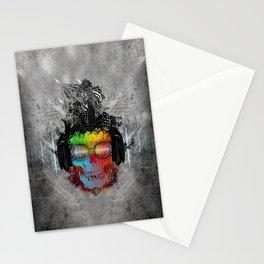 Rebel music Stationery Cards