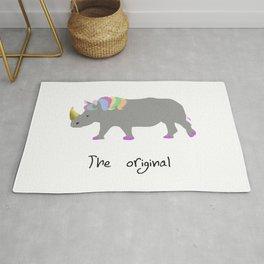 unicorhino - the original Rug