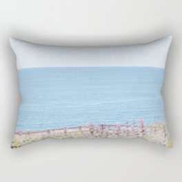 Travel photography Palos Verdes Ocean V The view Rectangular Pillow