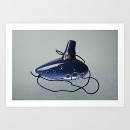Ocarina Ice Art Print