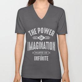 The Power of Imagination Unisex V-Neck