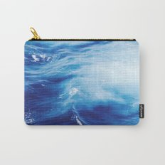 Blue Ocean Water Waves Carry-All Pouch