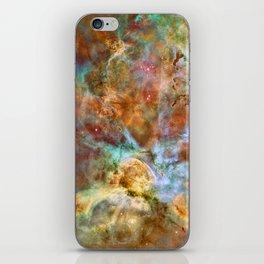 Mystic Mountains - Carina Nebula Astronomy Image iPhone Skin