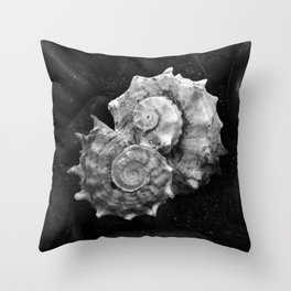 Shell No.3 Throw Pillow