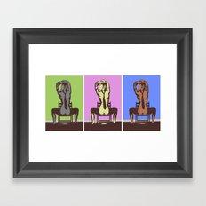 Strictly Business Framed Art Print