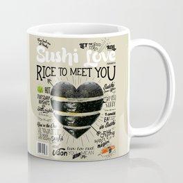 Sushi Love Cover Coffee Mug