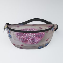 Pomegranate Blueberry explosion Fanny Pack