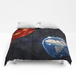 Sun, Ankh, Earth, Stars. Comforters