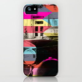 colorful confusion iPhone Case