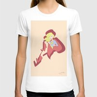 supergirl T-shirts featuring Supergirl by The Time Lord Twins