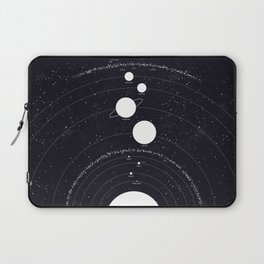 Stellarum Ordo Solaris: A map of our Solar system Laptop Sleeve