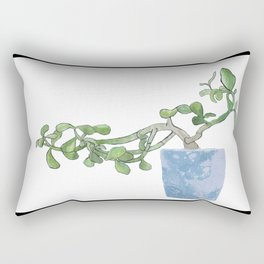 Plants are the best people Rectangular Pillow