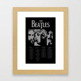 musical geniuses Framed Art Print