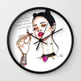 Rihanna // Needed Me Wall Clock