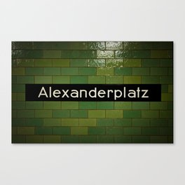 Alex Canvas Print