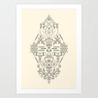 SIMETRIA - II Art Print