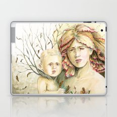 Mother Earth to her child Laptop & iPad Skin